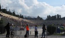 The stadium where the race ends