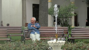 The old man and the fountain