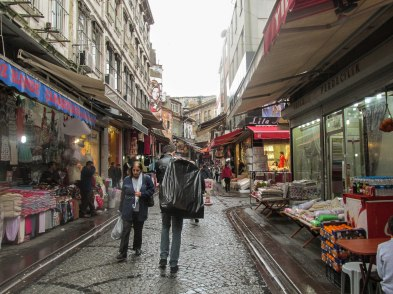 I think this was around the Grand Bazaar