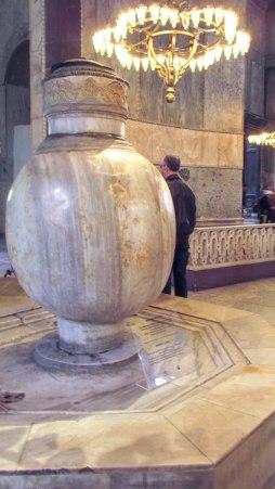 Big marble jar